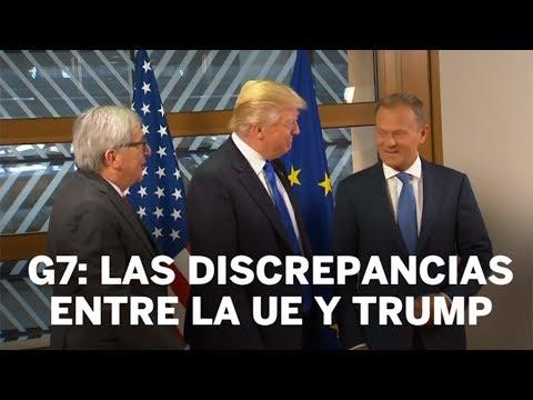 G7: Las discrepancias de la UE y Trump   Internacional