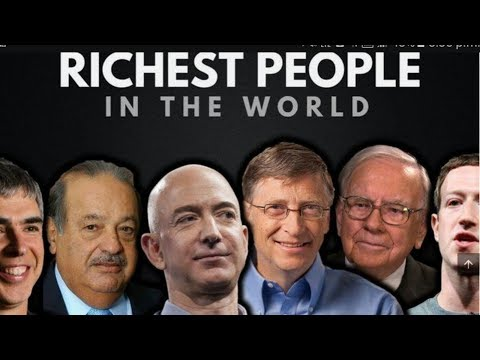 World top ten richest pepole  by Top 10