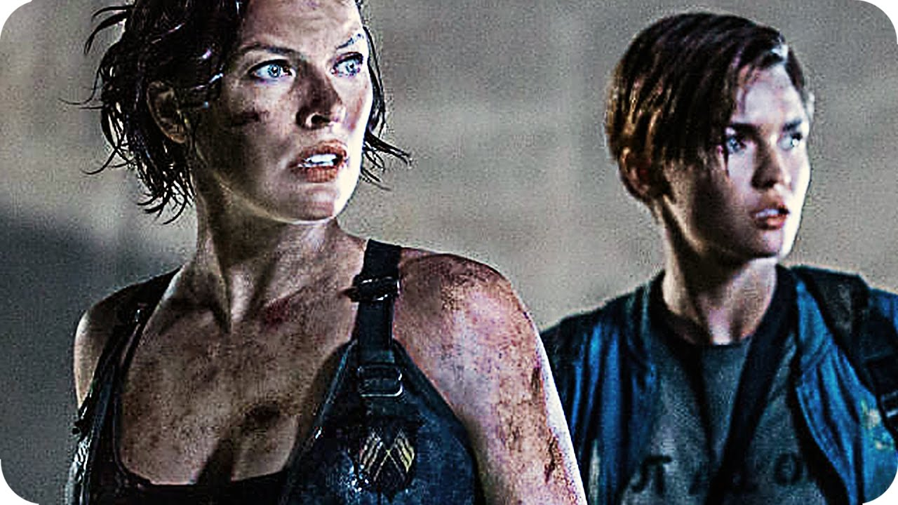Resident Evil The Last Chapter Adds Ruby Rose Others: RESIDENT EVIL 6: THE FINAL CHAPTER Trailer 4 (2017)