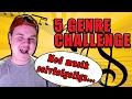 5 GENRE CHALLENGE - HVOR SKAL VI SOVE I NAT?