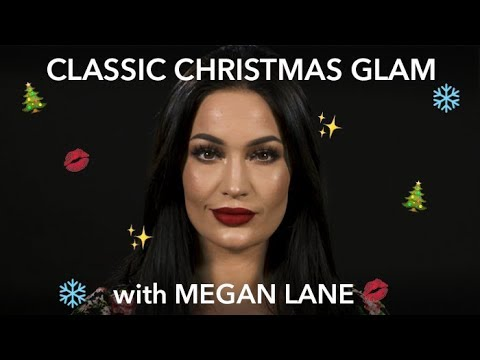 CLASSIC CHRISTMAS GLAM MAKEUP LOOK with Megan Lane | Beauty Bay