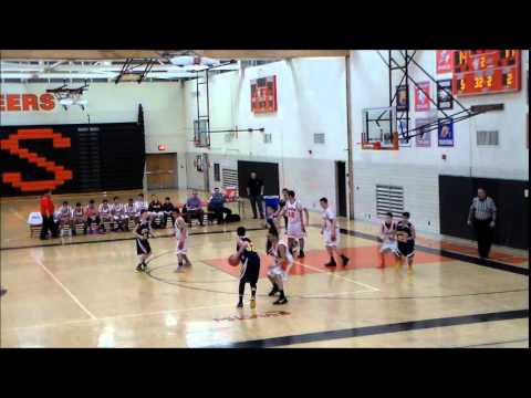Crestwood High School Freshman Basketball vs. Dearborn Pioneers 2/26/15