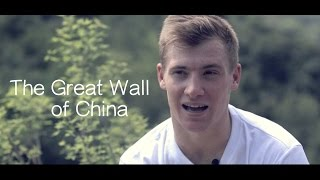 Andrew Henderson - Climbing The Great Wall of China