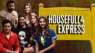 Housefull 4 |Housefull 4 Express|Akshay|Riteish|Bobby|Kriti S|Pooja|Kriti K|Sajid N|Farhad| Oct 25