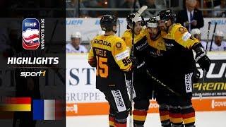 Siegesserie geht weiter: Deutschland – Frankreich 4:1 | Highlights | IIHF Eishockey-WM 2019 | SPORT1