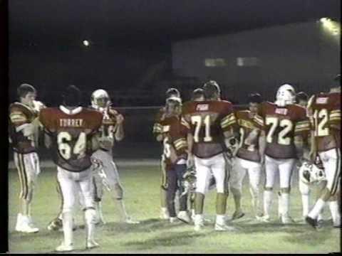 Glendale (AZ) High School vs Miami High School part 4 1988