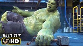THE AVENGERS (2012) Movie Clip - Hulk Vs. Thor Fight HD