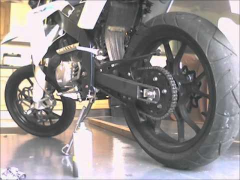 Rieju SMX 125 Custom Exhaust Sound