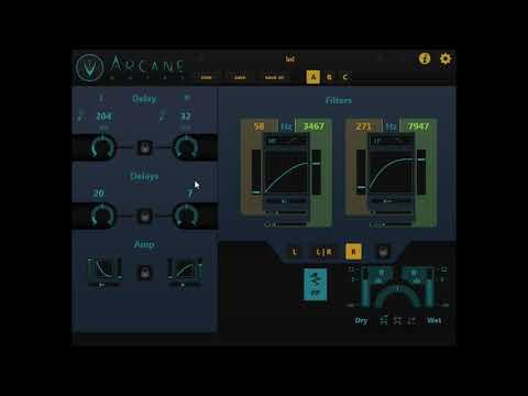 Arcane Delay VST 3 plugin (coming soon)