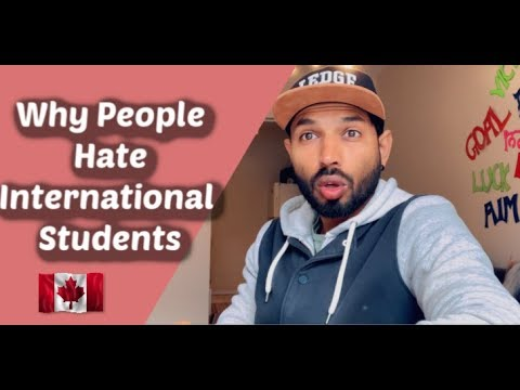 Student Fight In Surrey,  Why People Hate International Students In Canada