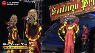 Gambar cover Lagu Jaranan PREI KANAN KIRI Cover Voc WULAN SAMBOYO PUTRO Live Sonobekel 2018