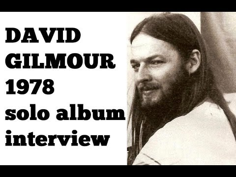 david gilmour first solo album interview 1978 king biscuit youtube. Black Bedroom Furniture Sets. Home Design Ideas
