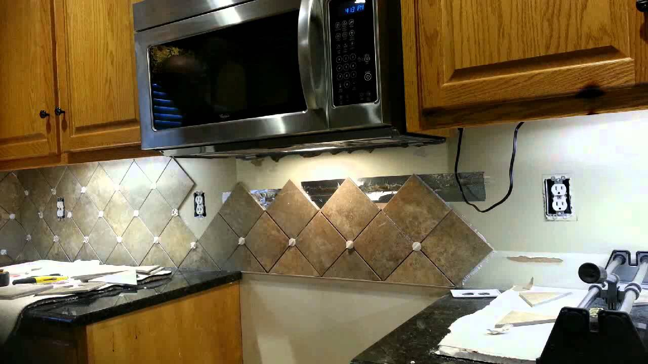 Top backsplash behind stove - YouTube IE66