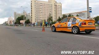 Скоростное маневрирование на автомобилях (Витебск, 07.09.2014)