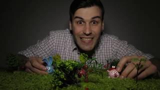 СМЕШАРИКИ Нюша, Ёжик, Крош и Дядя Бу в страшном лесу Сила смешариков Видео для детей