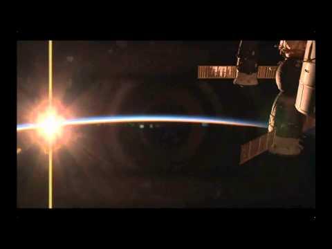 ISS Sunset HDEV
