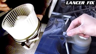 Lancer Fix 22 | Blower Motor Fan, Grommet Hood Clip