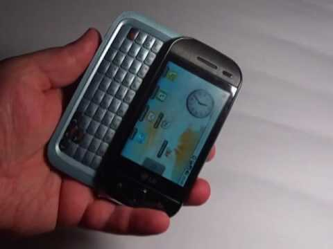 Внешний вид LG GW620