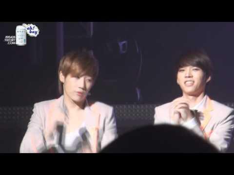 Sunggyu & Woohyun Bunny Aegyo - YouTube