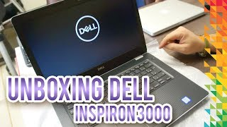 Unboxing Novo Dell Inspiron 14 3000 - TED Marketing