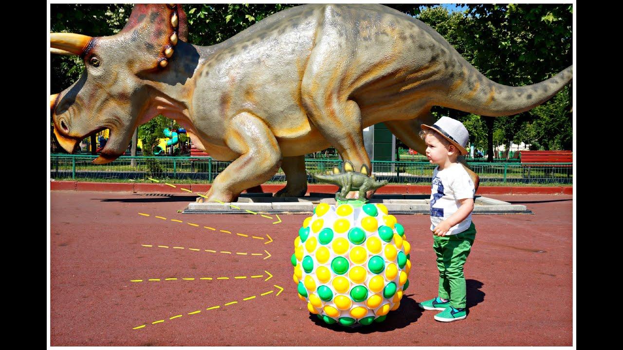 BALLS SURPRISE CUPS Egg! Giant Dinosaur Egg - Toys for ...