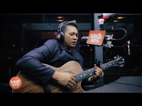 "Rannie Raymundo sings ""Why Can't It Be"" LIVE on Wish 107.5 Bus"