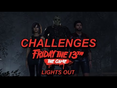 LIGHTS OUT Friday the 13th: The Game Challenges #3