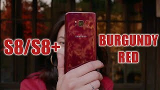 Samsung Introduces New BURGUNDY RED Color For Galaxy S8 & S8 Plus