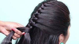 """1 Min Easy """"Side Puff"""" Hairstyles // Everyday Cute Girls Hairstyles // Perfect front puff hairstyles"""