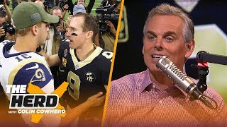 Colin Cowherd plays the 3-Word Game with NFC teams | NFL | THE HERD