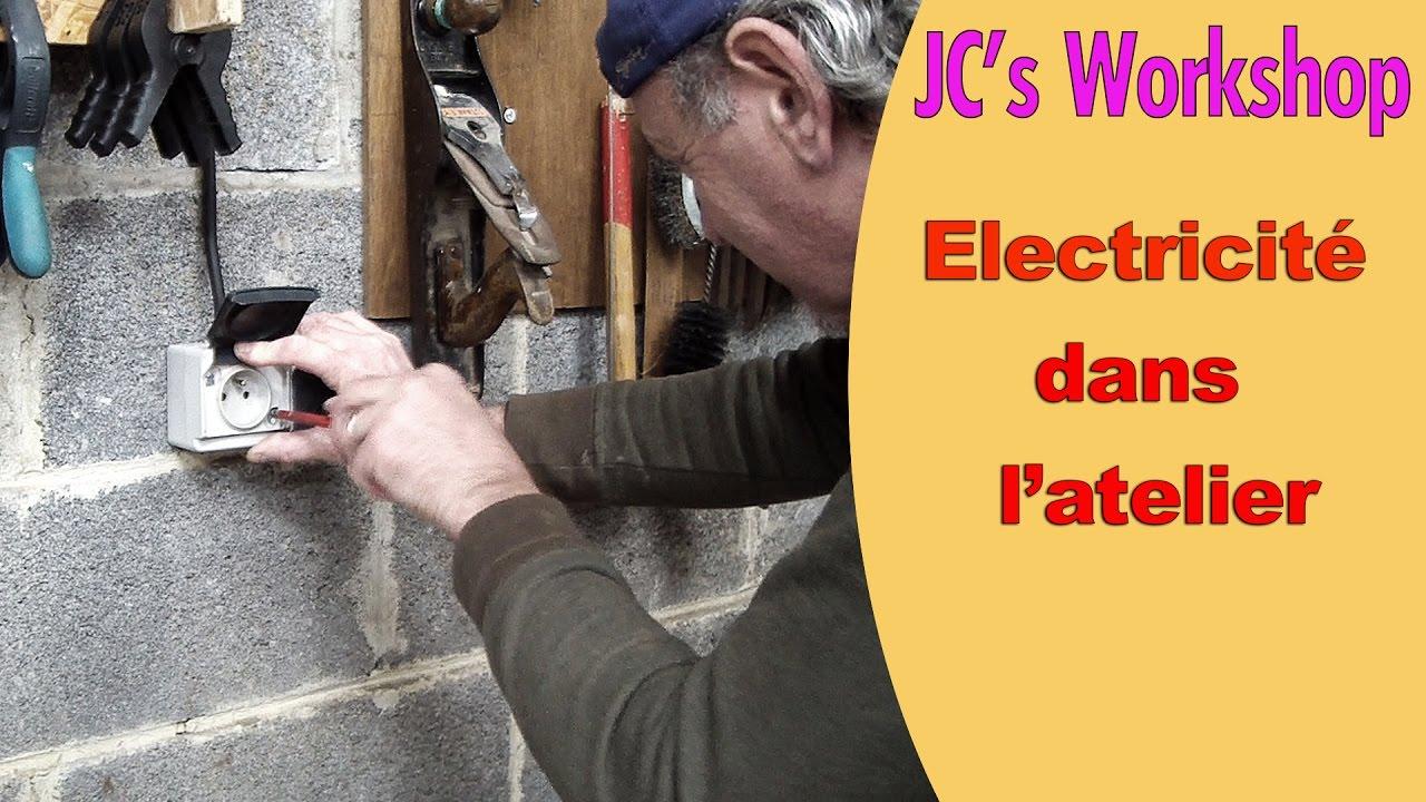 Gaine Electrique Exterieur Apparente l'électricité dans l'atelier, prises, éclairage - partie 2/2 - diy - #48