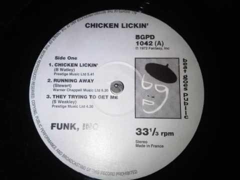 funk inc chicken lickin fantasy records (1972)