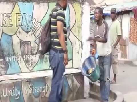 Stop throwing rubbish in the gutter in Sierra Leone