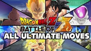 Dragon Ball Z Battle of Z - All Ultimate Attacks TRUE-HD QUALITY