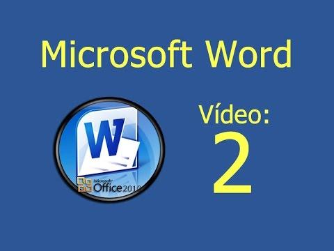 Curso de Microsoft Word. Vídeo 2