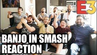 INSANE REACTION: Banjo Kazooie in SMASH BROS! - Nintendo Direct