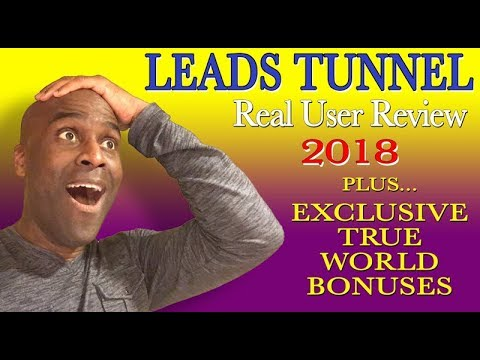 Leads Tunnel Review and Demo 2018 | Members Area and Software Overview | Real World Bonuses