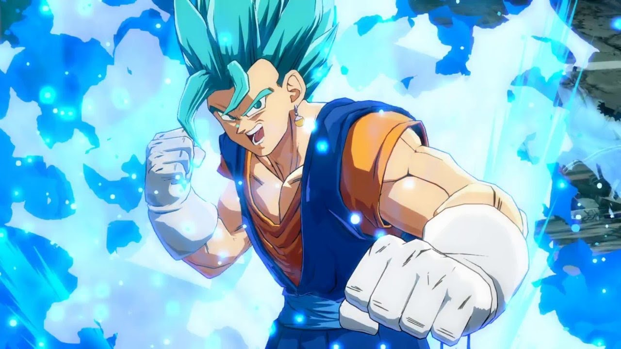 Dragon Ball Fighterz Vegito Ssgss Character Trailer Youtube