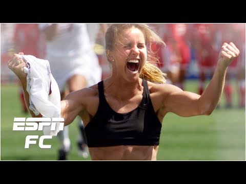 The sports bra is in a frame at my house - Brandi Chastain | FIFA ...