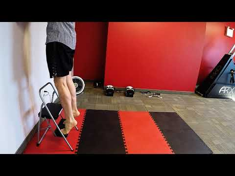 Heel Raise Calf exercise