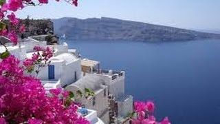 Курорты и пляжи Греции - остров Санторини(Курорты и пляжи Греции - остров Санторини - это остров, образовавшийся после извержения вулкана. Он располаг..., 2014-03-15T17:14:12.000Z)