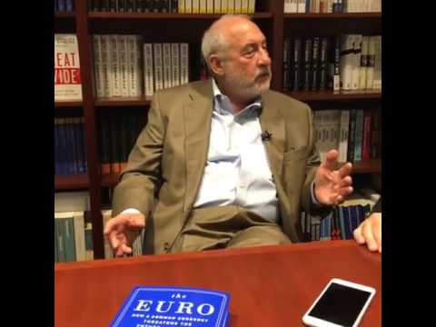 Joseph Stiglitz  -  The Euro: How a Common Currency Threatens the Future of Europe