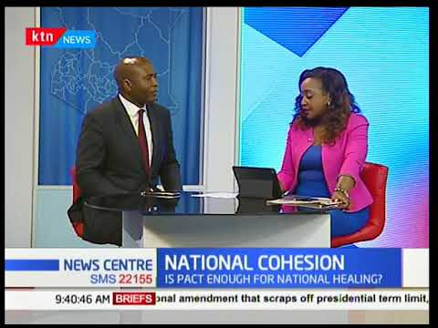 Daniel Juma-Exe. Director Global Peace; Impact of Raila-Uhuru pact on cohesion-News Centre