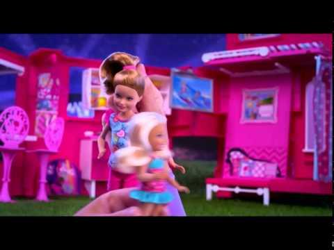 Barbie'nin Pembe Karavanı Oyun Seti