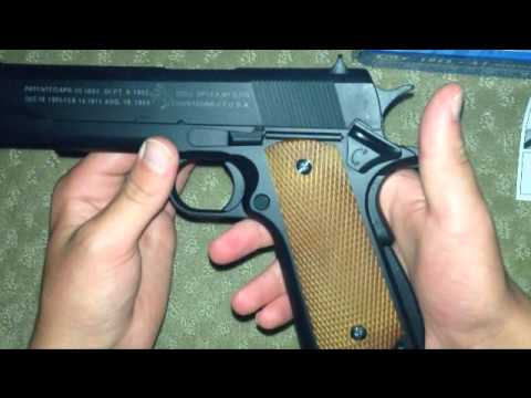 Cybergun Licensed Colt full metal M1911 Full Size Airsoft Spring Pistol