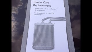 Heater Core Replacement: A-Body Olds, Buick, Pontiac, Chevrolet Vehicles.