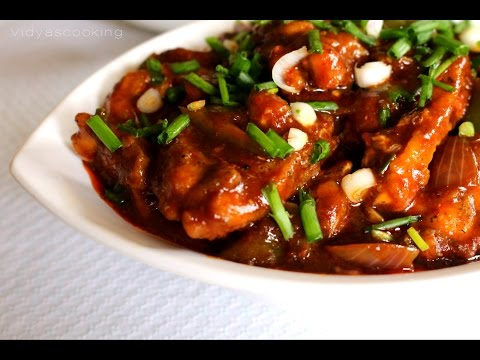 Fish In Blackbean Sauce - Indo Chinese Recipe