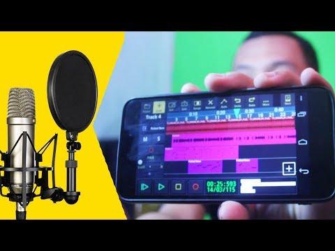 CARA REKAM SUARA PAKE HP TANPA PC / LAPTOP SUPAYA JERNIH ~ Audio Evolution Mobile Tutorial Indonesia