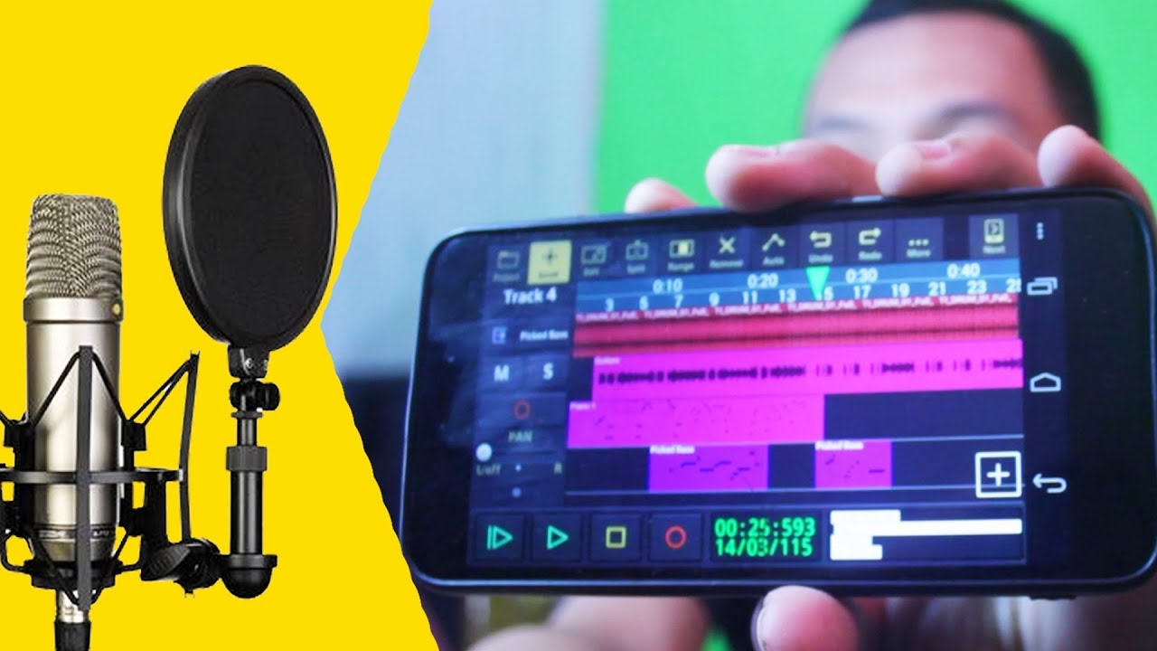 Cara Rekam Suara Pake Hp Tanpa Pc Laptop Supaya Jernih Audio Evolution Mobile Tutorial Indonesia Youtube