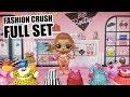 LOL Surprise FASHION CRUSH FULL SET | L.O.L. Series 4 All New Fashion Crush Outfits